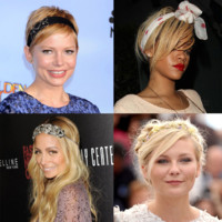 Rihanna, Charlize Theron... le headband, accessoire cheveux trendy