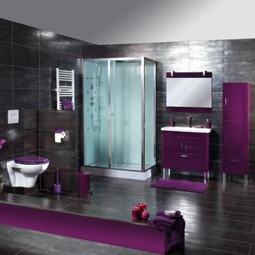 des nouveaut s salle de bain pop ethno chics chez bricorama salle de bain bricorama ambiance. Black Bedroom Furniture Sets. Home Design Ideas