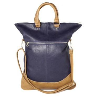 Sac shopper bicolore Pull & Bear, 29,99 euros
