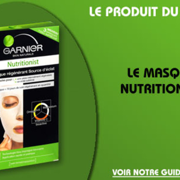 masque nutritionist garnier home