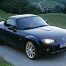 Mazda MX5 roadster coupé