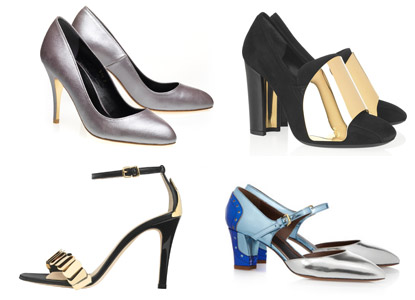 Montages chaussures précieuses 415