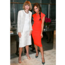 Victoria Beckham chic et acidulée à la Fashion's Night Out de New York
