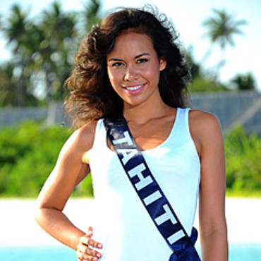 Miss Tahiti 2010 - Lucie Wilson- Election candidate Miss France 2011- © SIPA - Interdit à toute reproduction, téléchargement ou stockage