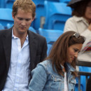 Pippa Middleton avec son ex George Percy au tournoi de tennis de Londres