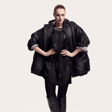 Collection H&M automne hiver 2010-2011 silhouette 8