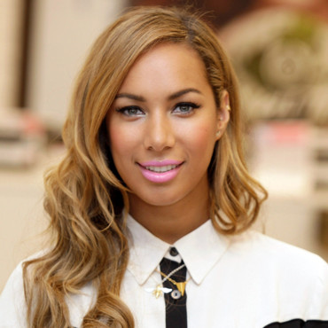 Leona Lewis à Londres le 27 mars pour le lancement de sa collection de maquillage en collaboration avec The Body Shop