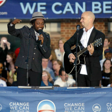 Will I Am soutient Barack Obama