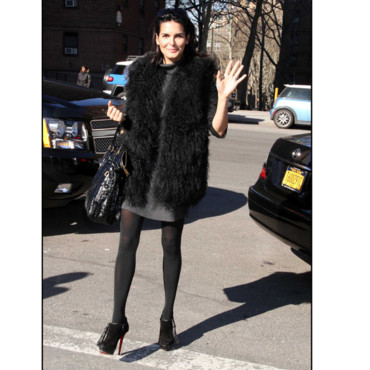 Fashion Week de New York Angie Harmon