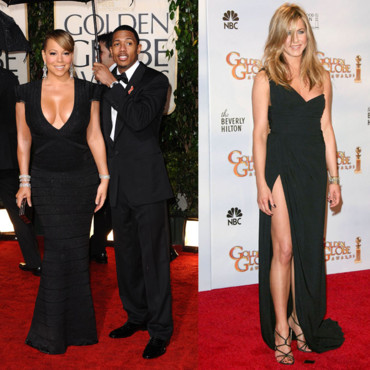 Golden Globes Jennifer Aniston et Mariah Carey ultra sexy
