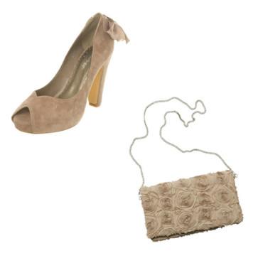 Sac et chaussures le nude