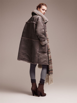 Collection H&M automne hiver 2010-2011 silhouette 11