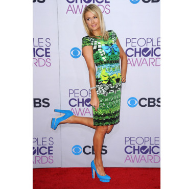 Paris Hilton lors des People's Choice Awards 2013 le 9 janvier 2013
