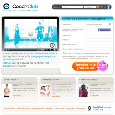Coaching sport minceur forme : coach club