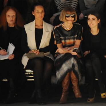 Fashion Week défilé Alexander Wang _ Anna Wintour
