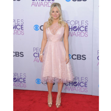 Kaley Cuoco lors des People's Choice Awards 2013 le 9 janvier 2013