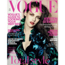 Kristen Stewart en couverture du Vogue UK shooting Mario Testino
