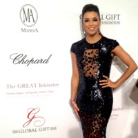 Eva Longoria au Global Gift Gala 2013 à Paris