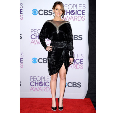 Jennifer Lawrence lors des People's Choice Awards 2013 le 9 janvier 2013