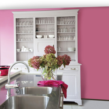 peinture les 50 couleurs vives la mode en 2012 la vie en rose dans ma cuisine d co. Black Bedroom Furniture Sets. Home Design Ideas