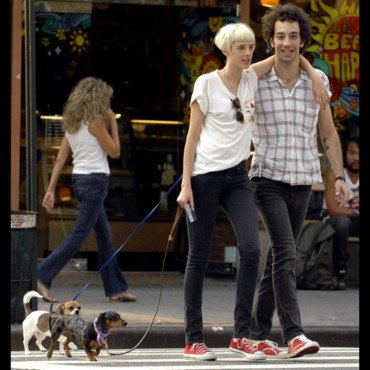 Agyness Deyn et Albert Hammond Jr.
