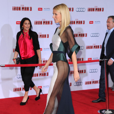 Gwyneth Paltrow lors de la première d'Iron Man 3 le 24 avril 2013 à Los Angeles