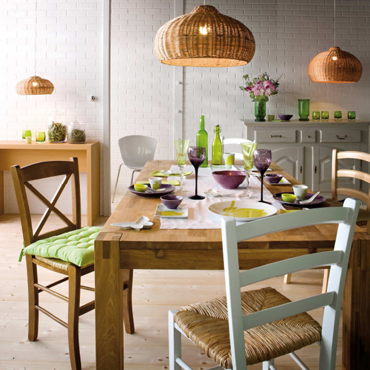 choisir sa table de salle manger astuces d co. Black Bedroom Furniture Sets. Home Design Ideas