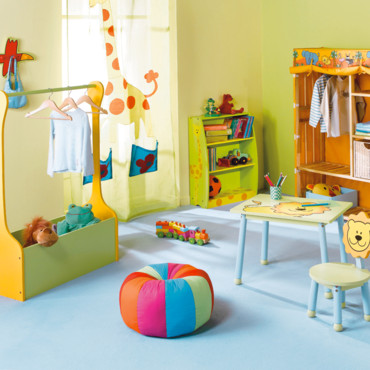 La chambre d'enfant Jungle Lion Conforama