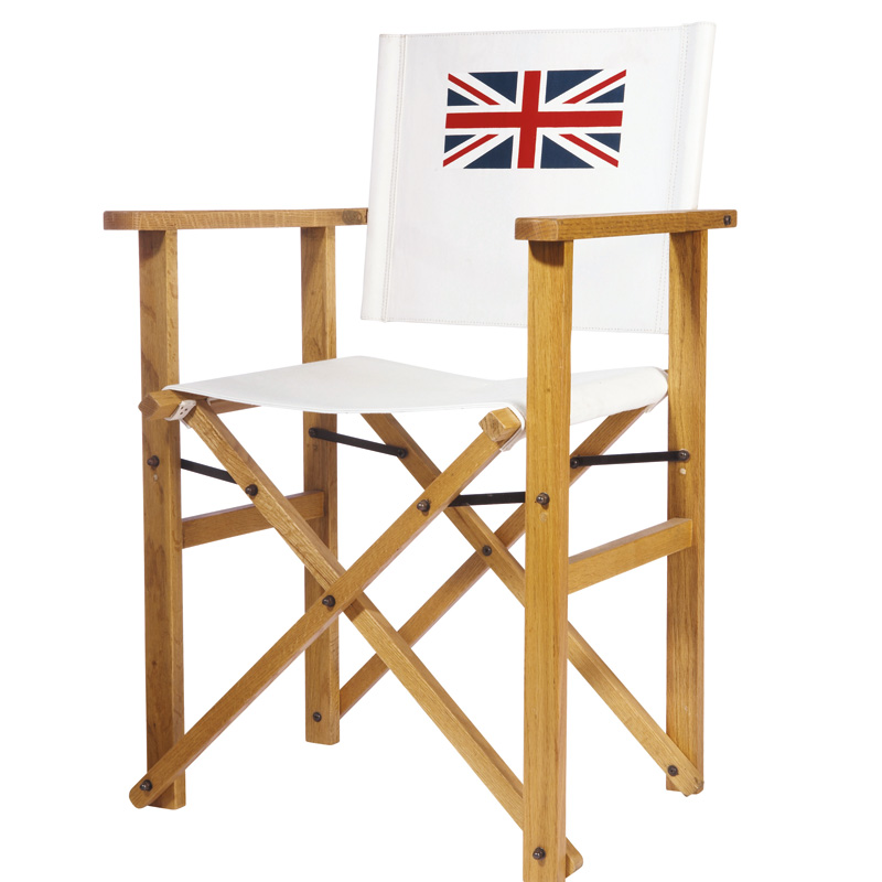 d co british le drapeau union jack s 39 affiche du sol au plafond le fauteuil de r alisateur. Black Bedroom Furniture Sets. Home Design Ideas