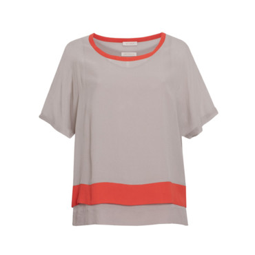 Top gris et orange Gat Rimon, 101,50 euros