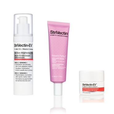 StriVectin montage corner beauté Fashion Week
