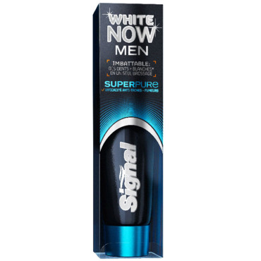 Dentifrice White Now Men super Pure, Signal