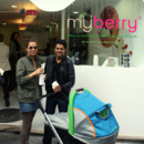 Mélissa Theuriau et Jamel Debouze amateurs de smoothies au My Berry
