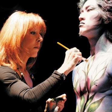 25 ans Make Up For Ever : Dany Sanz