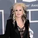Cindy Lauper coloration Cruella Grammy Awards 2012