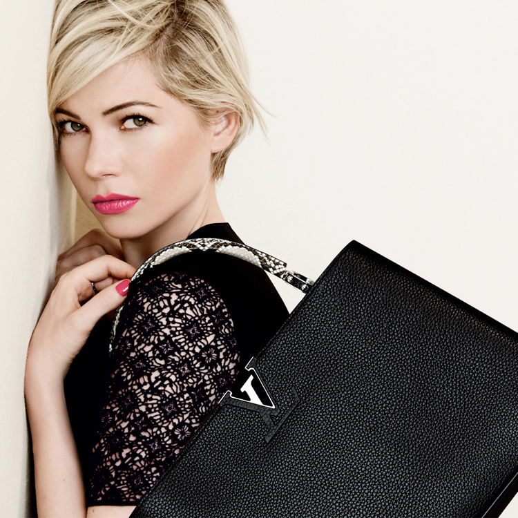 Michelle Williams campagne LV 2014 Capucines