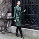 Mode : Robe verte Véronique Branquinho