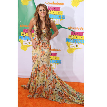 Kids Choice Awards Miley Cyrus en Dolce & Gabbana