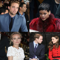 Rihanna, Stewart et Pattinson, Kate et William: o ont-ils pass Nol?