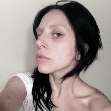 Lady Gaga au naturel