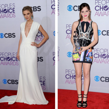 Montage People's choice awards Emma Watson Taylor Swift