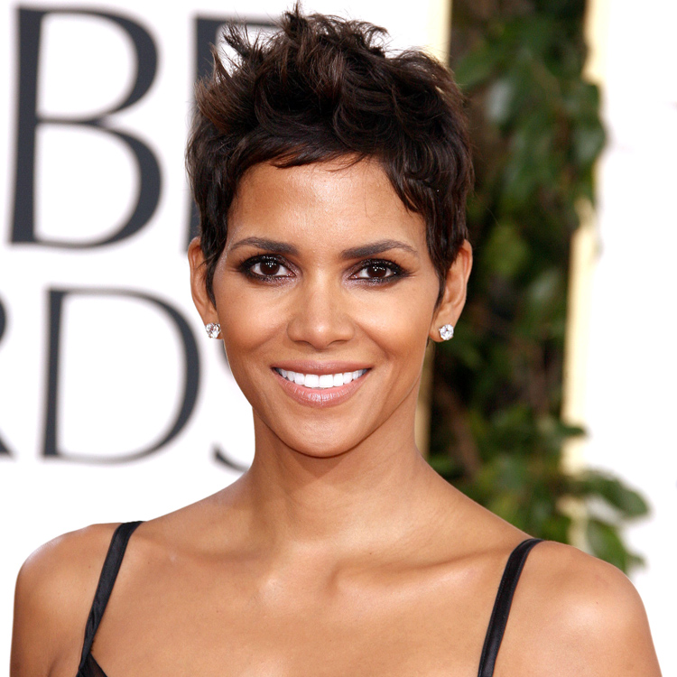 coupe courte halle berry