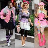 Madonna, Nicki Minaj... non au look back to the 80's !