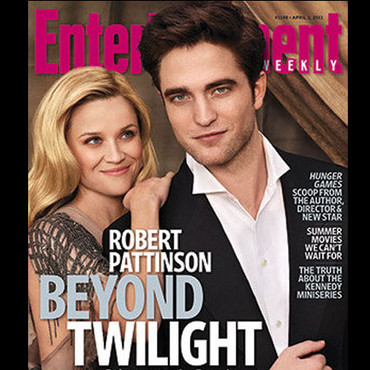 Robert Pattinson Reese Whitherspoon couverture EW