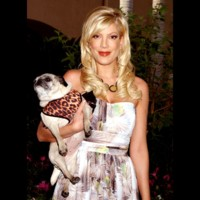 Photo : Tori Spelling a du chien !