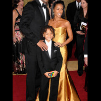 Photo : Will Smith, Jada Pinkett Smith et Jaden Smith