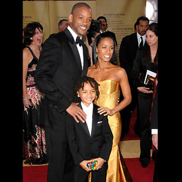 Will, Jada et Jaden Smith