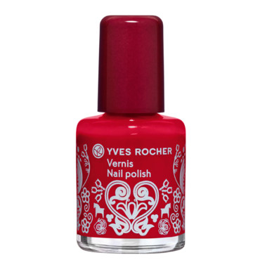Vernis à ongles rouge prussien Yves Rocher à 1,95 euros
