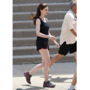 Anne Hathaway jogging tournage Dark Knight Rises