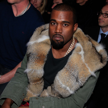 Kayne West au défilé Vuitton